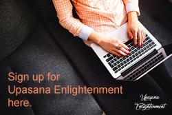 Sign Up Button Upasana Enlightenment Sonesha Academies International