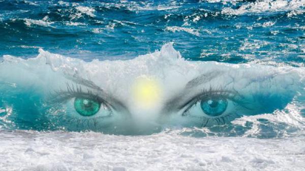 Sonesha Upasana Enlightenment seashore
